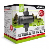 Aquael УФ-Стерилизатор STERILIZER UV-C AS LAMP 3W, шт